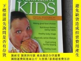 二手書博民逛書店Overweight罕見Kids: Spiritual, Beh