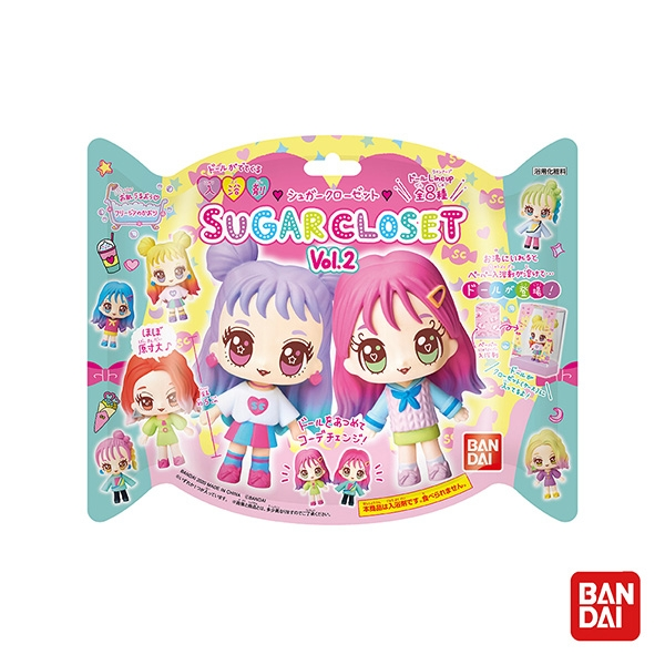 Weicker 唯可 日本Bandai-Sugar Closet入浴劑Ⅱ(附時髦小女孩公仔)【佳兒園婦幼館】