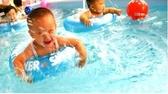 ABC嬰兒腋下圈兒童游泳圈寶寶趴趴圈脖圈嬰幼兒腰圈多重防護料柔