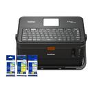 【任選三入 市價500元 原廠標籤帶】Brother PT-E850TKW 工業用標籤/套管兩用印字機