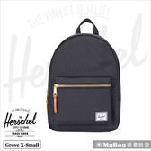Herschel 後背包  Grove X-Small  黑色  休閒後背包 Grove XS-001  MyBag得意時袋