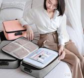 證件收納包盒家用家庭多層大容量多功能箱證書文件護照卡包整理袋ATF  享購