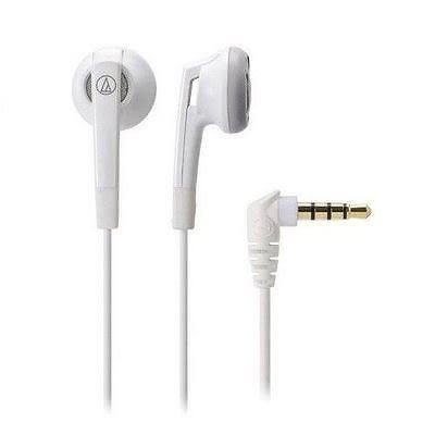 【台中平價鋪】全新 鐵三角 TH-C505 白色 耳塞式耳機  台灣鐵三角公司貨