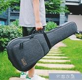 吉他包-Saning尚音41寸民謠吉他包加厚古典木吉他防水背包36寸雙肩包琴包 快速出貨 YYS