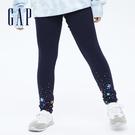 Gap女童 彈力印花針織內搭褲 7362...