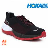【HOKA ONE ONE】男款路跑鞋 MACH競速鞋款 -黑紅色(H1019279BWHT) 全方位
