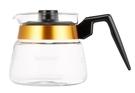 金時代書香咖啡 Bonmac 金邊耐熱塑膠手把玻璃壺 3人用 500ml CS-3