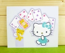 【震撼精品百貨】Hello Kitty 凱蒂貓~卡片-撲克牌(M)