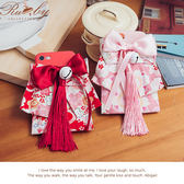 手機殼 蝴蝶結流蘇鈴鐺和服造型iPhone手機殼-Ruby s露比午茶