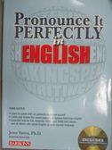 【書寶二手書T4/語言學習_XFN】Pronounce It Perfectly in English_Yates, J