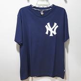 MLB 創信 紐約洋基 球隊T恤 6730201025 男款 深藍色【iSport愛運動】