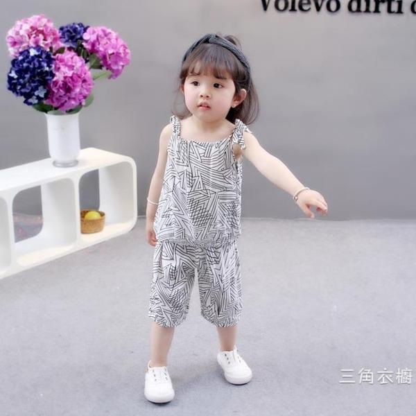 套裝夏裝女童套裝女寶寶套裝兒童夏季裝小童2洋氣3潮4韓版1-5歲小孩子