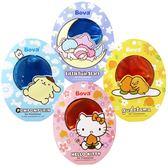 香氛片 Bova卡通授權芳香吊飾(四入)-Hello Kitty 蛋黃哥 布丁狗 雙子星【亞克】