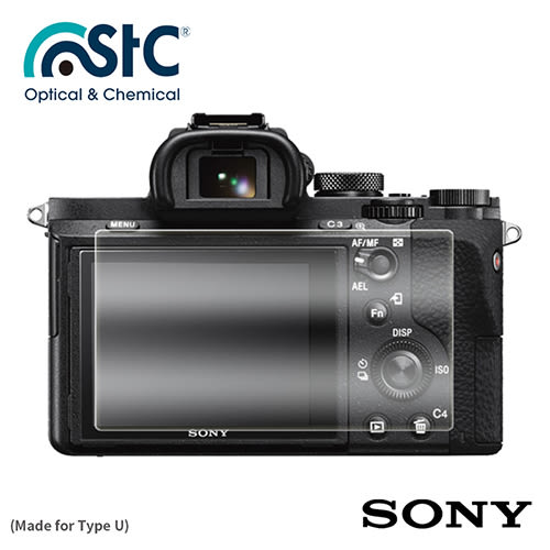 【震博】STC 9H鋼化玻璃保護貼 (For Sony A7III , A7RIII , RX10系列) 勝勢公司貨 送B+W拭鏡紙