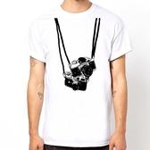 相機T#2短袖T恤-2色 圖案相片潮流趣味幽默玩翻 gildan