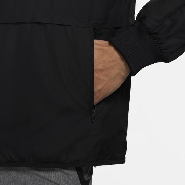 【現貨】NIKE 男裝 外套 立領 訓練 健身 休閒 輕巧 防水 乾爽 拉鍊口袋 黑【運動世界】CU6739-010
