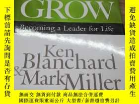 二手書博民逛書店great罕見leaders grow ken blanchar