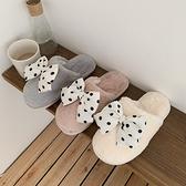 棉拖鞋女冬可愛少女心半包跟居家用室內保暖月子毛絨棉拖