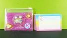 【震撼精品百貨】Hello Kitty 凱蒂貓~便條附袋-桃紅星星