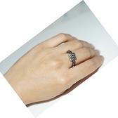 【喨喨飾品】磁性健康開運黑膽戒指S402