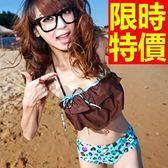 泳衣(兩件式)-比基尼-音樂祭泡湯玩水必備泳裝流行簡單2色56j64【時尚巴黎】