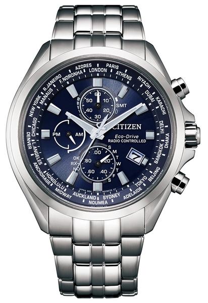 【分期0利率】星辰錶 CITIZEN 電波錶 鈦金屬 44mm 萬年曆 原廠公司貨 AT8200-87L
