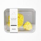 英國 NIZIO 希臘寶貝天然海棉沐浴組/洗澡海綿(絲綢海綿+蜂巢海綿)