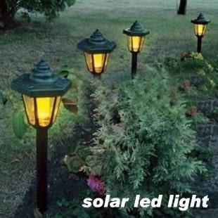 太陽能燈 戶外歐式六角太陽能燈LED庭院燈草坪燈花園景觀落地燈防水路燈 唯伊時尚