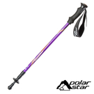 【PolarStar】EVA直把避震登山杖『紫色』P20719 戶外.登山.健行.健走.露營.手杖.爬山.拐杖 (單隻販售)