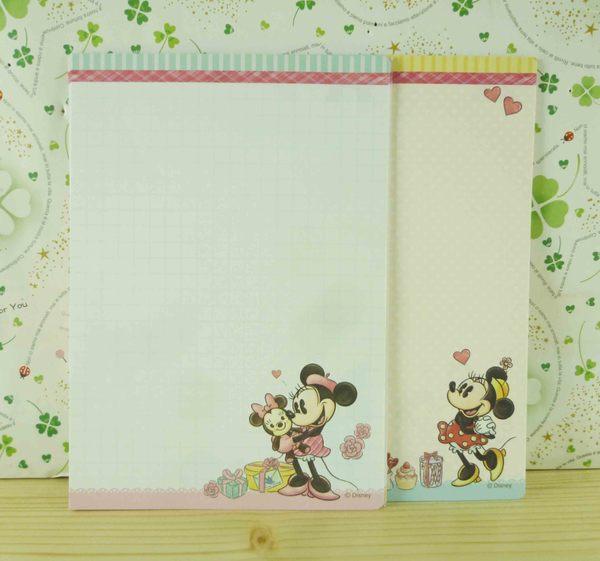 【震撼精品百貨】Micky Mouse_米奇/米妮 ~便條-米妮抱熊