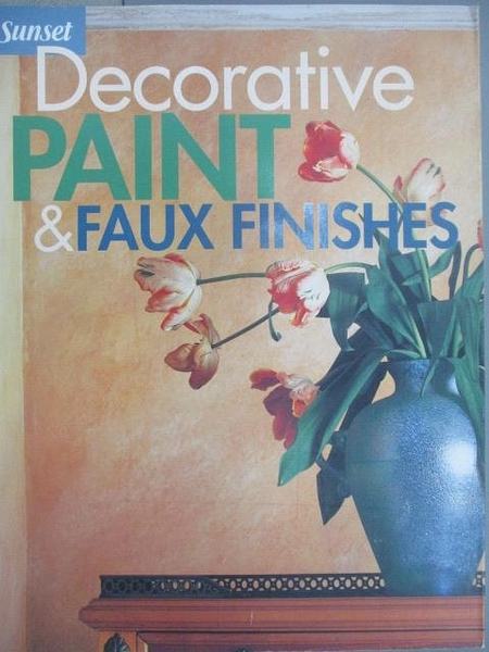 【書寶二手書T9/藝術_YAO】Decorative Paint & Faux Finishes