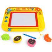 兒童畫畫板磁性寫字板寶寶嬰兒玩具1-6歲幼兒彩色大號繪畫塗鴉板  電購3C