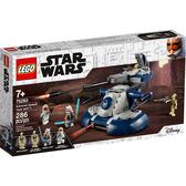 樂高積木LEGO《 LT75283 》STAR WARS™ 星際大戰系列 - Armored Assault Tank / JOYBUS玩具百貨