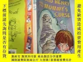 二手書博民逛書店horrid罕見henry and the mummy s curse 可怕的亨 利和木乃伊的詛. 咒..,