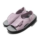 Nike 涼拖鞋 Sunray Adjust 5 V2 GS PS 粉紅 黑 中童鞋 大童鞋 女鞋 涼鞋 【ACS】 DB9562-501