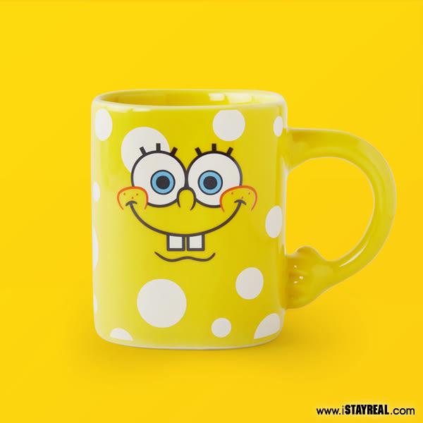 STAYREAL x SpongeBob 泡泡海綿插腰馬克杯