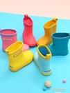 兒童雨鞋 日本兒童雨鞋幼兒園女童水鞋小孩寶寶防滑防護膠鞋小學生男童雨靴