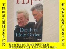二手書博民逛書店DEATH罕見IN HOLY ORDERS【015】Y28957