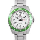 【分期0利率】ORIENT 東方錶 綠水鬼 200M 鋼帶 自動上鏈機械錶 全新原廠公司貨 FEM75006W