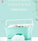 嬰兒床掛袋嬰兒床掛袋床頭袋子寶寶床邊尿不濕整理箱置物收納盒掛籃床上儲物 小山好物