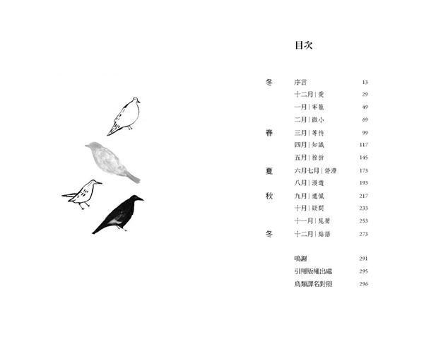 鳥、藝術、人生:觀察自然與反思人生的一年
