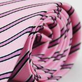 【Alpaca】粉紫斜紋領帶
