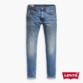 Levis 男款 上寬下窄 / 512 Taper 低腰修身牛仔長褲 / 赤耳 / 彈性布料