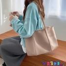 子母包 網紅超火慵懶風大容量子母包側背托特包PU軟皮購物袋時尚大包寶貝計畫 上新