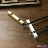 北歐 不銹鋼 筷架 創意 筷子托 金屬筷架