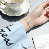 手鍊 惡魔之眼手鍊女韓版簡約個性手鍊女純銀 冷淡風手鍊氣質    傑克型男館