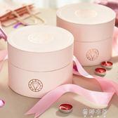 訂製            高檔歐式結婚慶用品喜糖盒子粉色閨蜜創意寶寶  蓓娜衣都