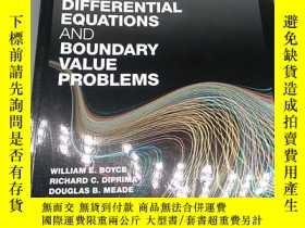 二手書博民逛書店Boyce s罕見Elementary differenial equaions and boundary val