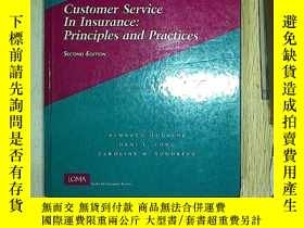 二手書博民逛書店Customer罕見Service In Insurance P