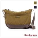 Backbager 背包族【比利時Hedgren】HGA Great American系列 弧形側背包/斜背包_軍綠色/黑灰色